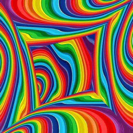 Abstract rainbow bunten Hintergrund, Kunst multicolor Zimmer Illustration