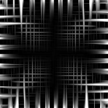 seamless metal: Abstract black and white metal frame background Stock Photo