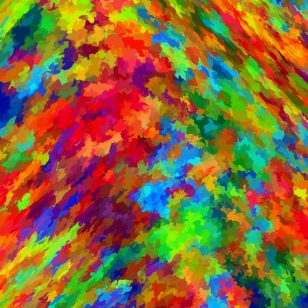 虹の抽象的なカラフルな背景のペイント