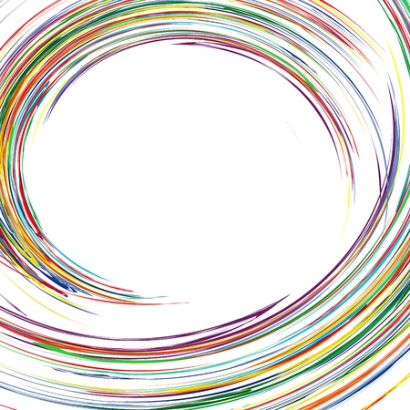 Abstract rainbow curved lines colorful background with place for text 2