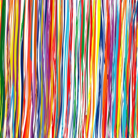 Abstract art rainbow curved lines colorful background 7 Vector