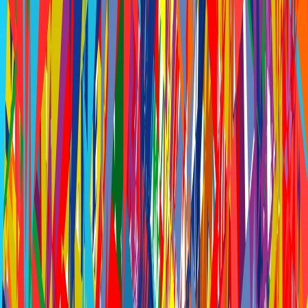 抽象芸術虹湾曲線カラーのベクトルの背景 7  イラスト・ベクター素材