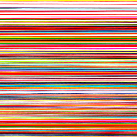 colorful stripes: Abstract art rainbow curved lines color vector background
