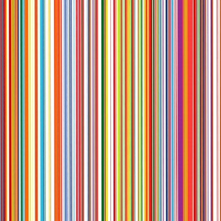 Abstract art rainbow curved lines color vector background