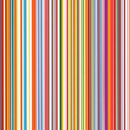 Abstracte kunst regenboog gebogen lijnen kleur vector achtergrond Stock Illustratie