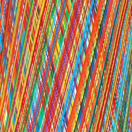 rainbow vector: Abstract art rainbow curved lines colorfull vector background 3