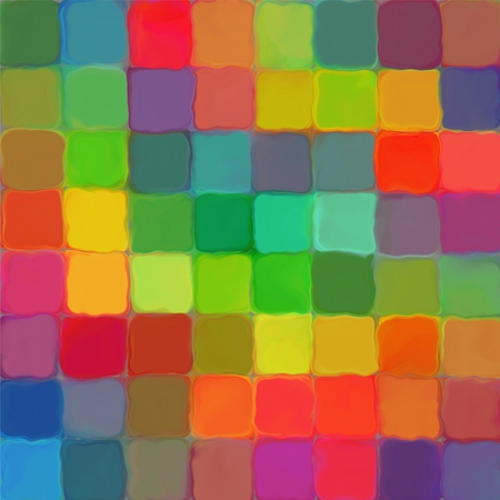 Abstract rainbow color paint mozaic pattern palette background photo