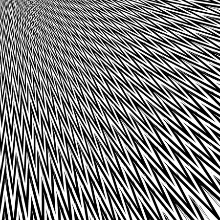 Abstract black and white sharp lines vector background