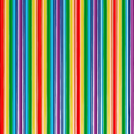 Art rainbow color stripes paint line background Illustration