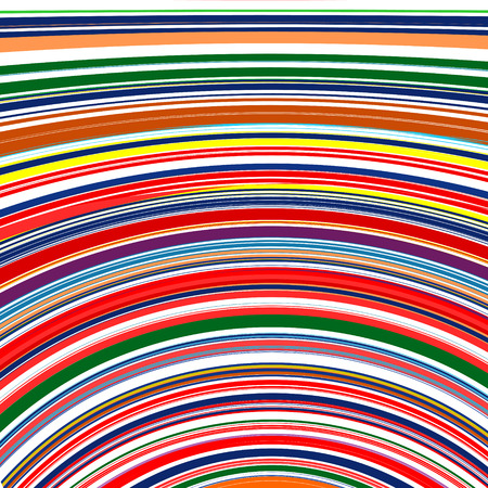 Abstract rainbow curved stripes color line background 1