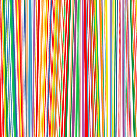 Abstract rainbow curved stripes color line vertical background