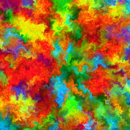 slop: Abstract rainbow color paint splash art grunge background Stock Photo