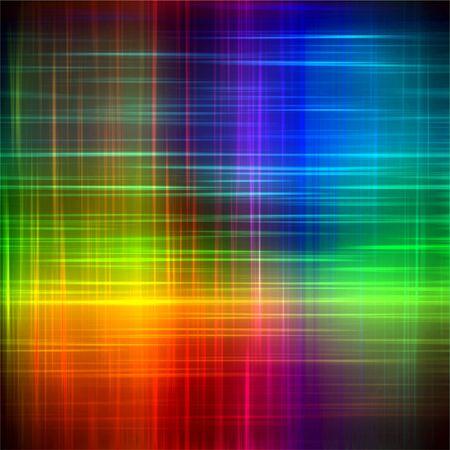 Abstract rainbow blurred lines pattern background illustration illustration