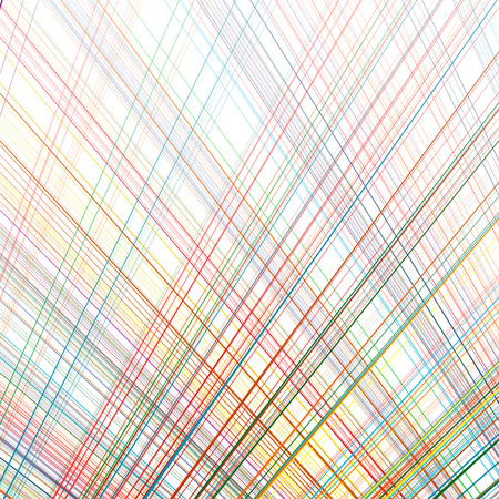 Abstract rainbow curved stripes color line art background Illustration