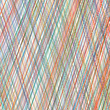 stripe pattern: Abstract rainbow curved stripes color line art background Illustration