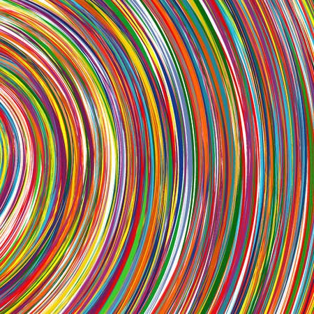 abstract rainbow: Abstract rainbow curved stripes color line background