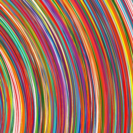 arc en ciel: Résumé arc recourbé rayures ligne de fond de couleur
