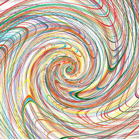 abstract rainbow: Abstract rainbow curved stripes color line spiral background