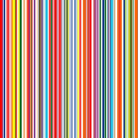 Seamless rainbow curved stripes color line art background Illustration