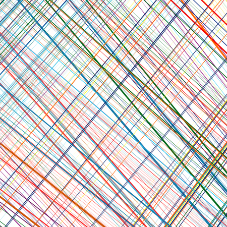 abstract rainbow: Abstract rainbow curved stripes color line art vector background
