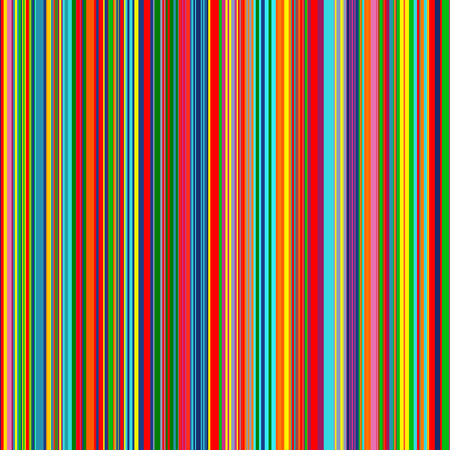 Seamless rainbow curved stripes color line art vector background 2