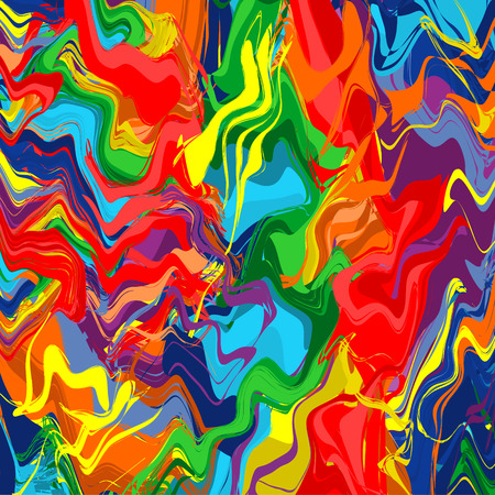 Art rainbow color splash brush strokes paint abstract background