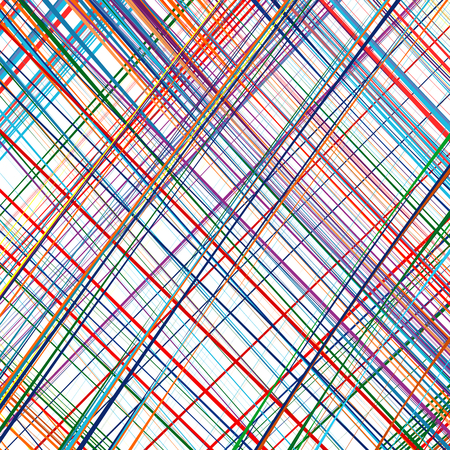 decorative frames: Abstract rainbow curved stripes color line art vector background