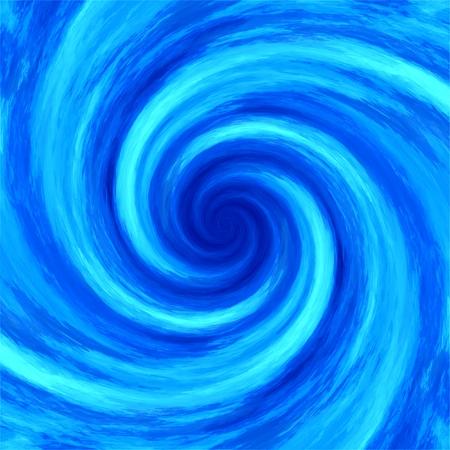抽象的な水渦渦スパイラル背景