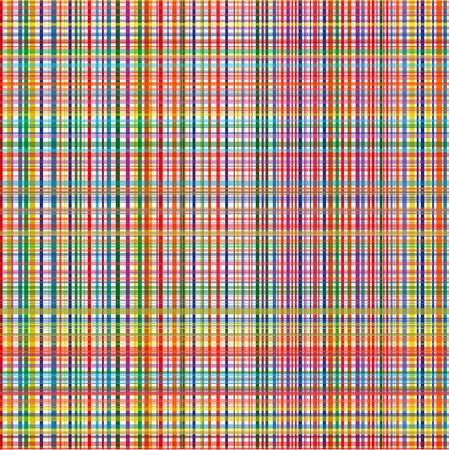 Nahtlose vertikale und horizontale Streifen Regenbogen Farbe Vektor Hintergrund. Illustration