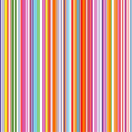 Abstrakt Regenbogen Farbe Streifen nahtlose Vektor Hintergrund mit Linien.