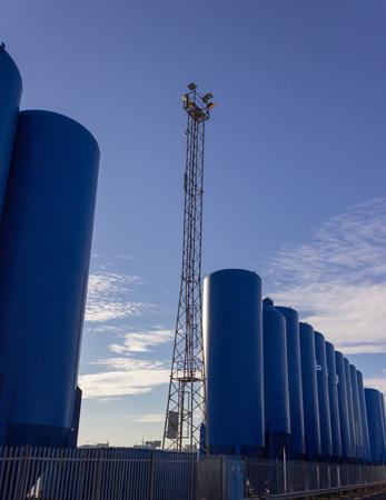 Harbour industrial equipment in Aberdeen