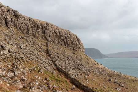 Rock formations on the Isle of Skye