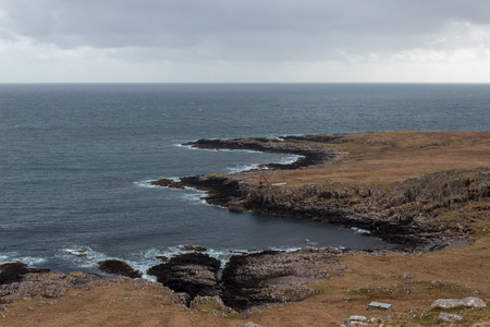 Rough coast of the Isle of Skye