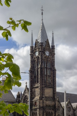 Church tower in Aberdeen, Scotland