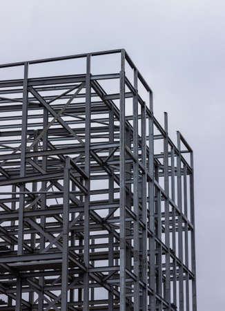 Metal frame of a builing in Glasgow, Scotland Reklamní fotografie
