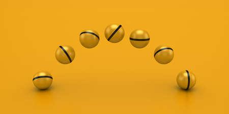 Balls Form A Arc