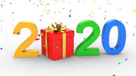 New Year 2020 Zdjęcie Seryjne - 136314389