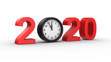 New Year 2020 Zdjęcie Seryjne - 136314394