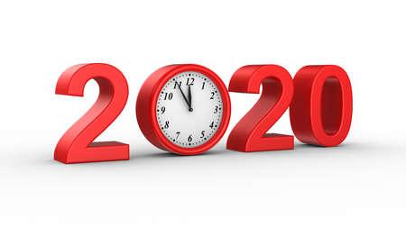 New Year 2020 Zdjęcie Seryjne - 136314395