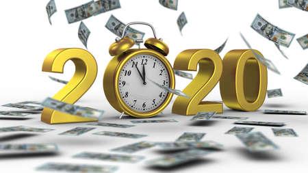 New Year 2020 Zdjęcie Seryjne - 136314396