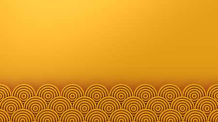 Circles Form A Wave