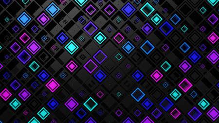Background of Rhombuses Zdjęcie Seryjne - 135759629