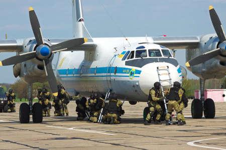 hostages: Anti-terrorist training saving the hostages