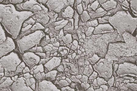 erosion: Cracked earth vector background  Illustration