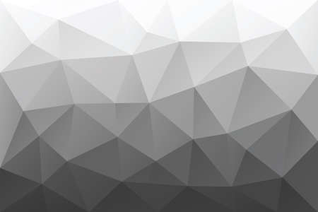 greyscale: Greyscale triangular abstract background Illustration