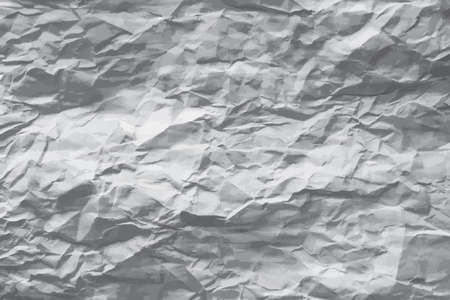 greyscale: Greyscale wrinkled paper vector background