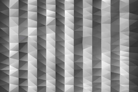 grayscale: Triangular background - abstract polygonal stripes in grayscale Illustration