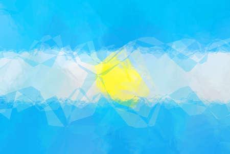 bandera argentina: bandera Argentina - patr�n de dise�o poligonal