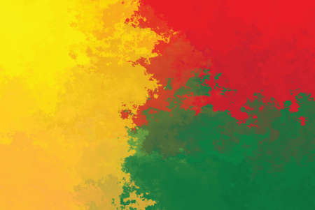 Benin flag - grunge design pattern Stock Photo