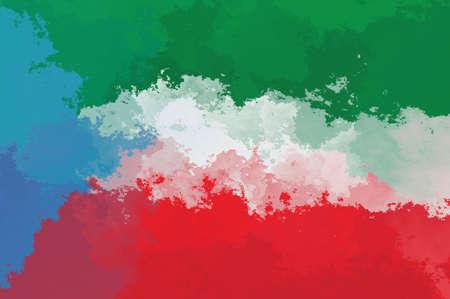 equatorial guinea: Equatorial Guinea flag - grunge design pattern